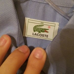Lacoste Shirts - Lacoste dress up shirt